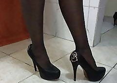 High Heels free clips - hardcore ebony sex