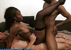 Beautiful tube clips - black ebony sex